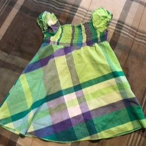 Faded Glory Baby Girl Plaid Dress or Long Top